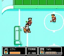 Ike Ike Nekketsu Hockey Bu Subette Koronde Dai Rantou